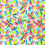 Fluorescent Palms Microfiber Boardshort Fabric