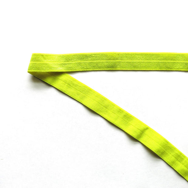 Chartruese Fold Over Elastic Trim