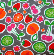 Fruit Salad Cotton Knit Fabric