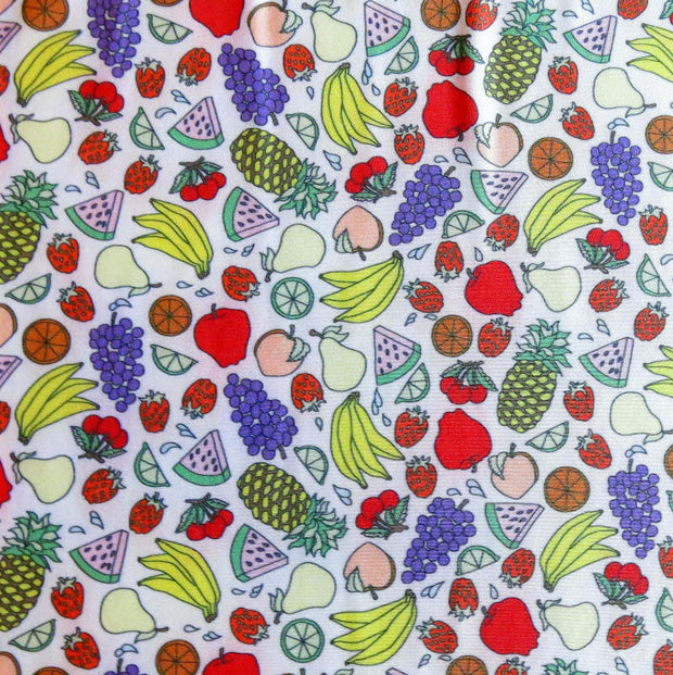 Fruit Salad Nylon Spandex Swimsuit Fabric