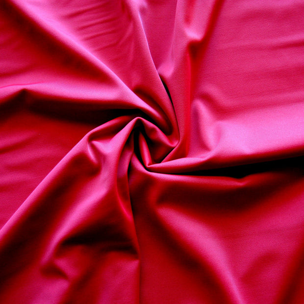 Garnet Red Nylon Lycra Swimsuit Fabric
