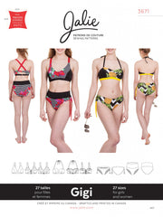 Gigi Bikinis Sewing Pattern by Jalie