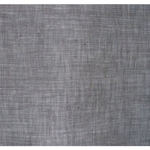 Heathered Grey Bamboo Linen Woven Fabric