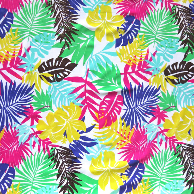 Hawaiian Fauna Nylon Spandex Swimsuit Fabric