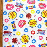 HJ Retro Candy Cotton French Terry Knit Fabric