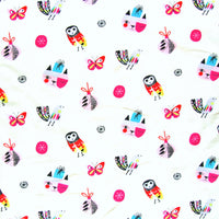 Holiday Charms Cotton Lycra Knit Fabric