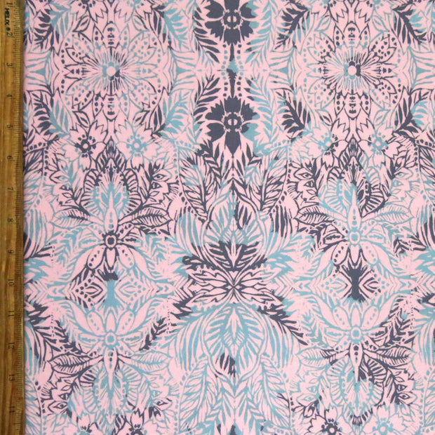 Indie Flora Poly Spandex Swimsuit Fabric