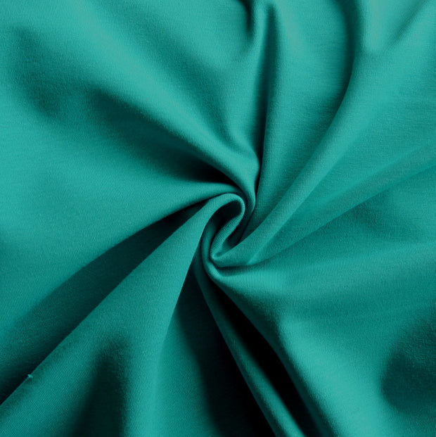 Jade Cotton Lycra Jersey Knit Fabric
