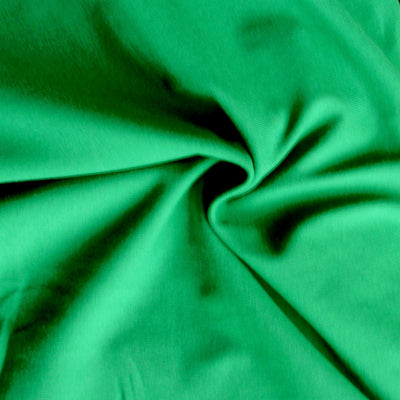 Irish Kelly 10 oz. Cotton Lycra Jersey Knit Fabric