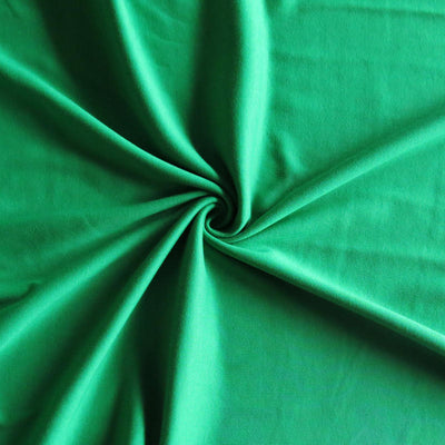 Grass Green Cotton Interlock Fabric