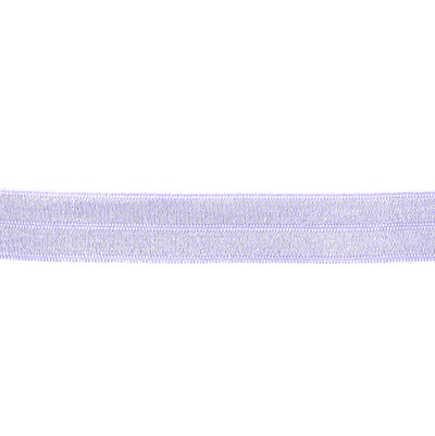 Lavender Fold-Over Elastic Trim