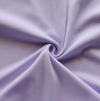 Lavender Purple Cotton Interlock Fabric