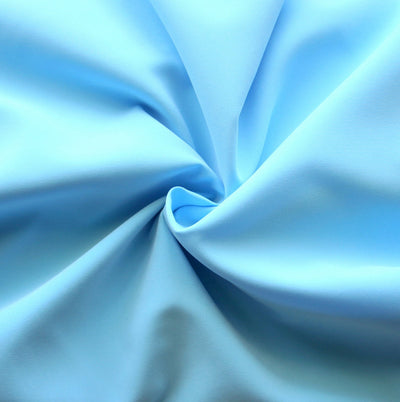Light Blue Microfiber Boardshort Fabric