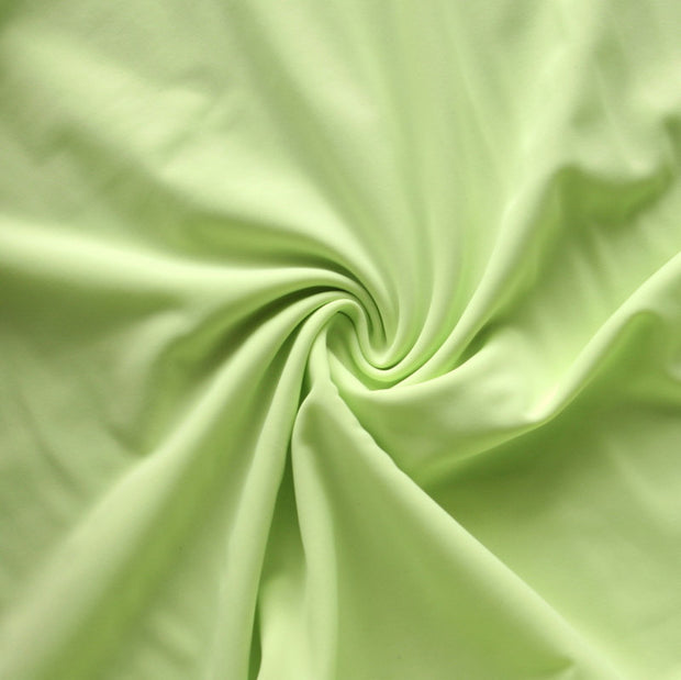 Light Lime Nylon Lycra Swimsuit Fabric