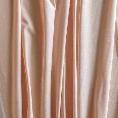 Light Peach Poly Spandex Swimsuit Lining Fabric