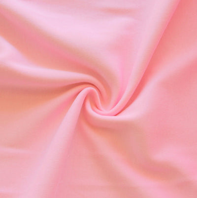 Pink Lemonade Cotton Interlock Fabric