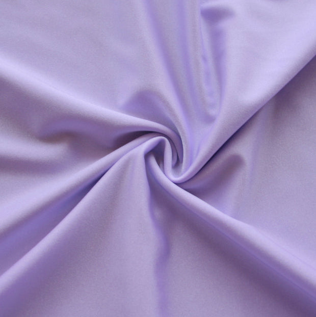 Lilac Solid Nylon Spandex Tricot Specialty Swimsuit Fabric