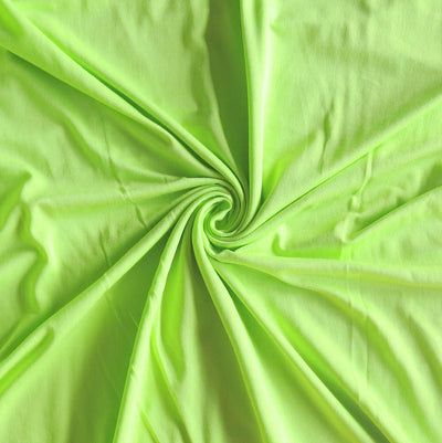 Lime Green Bamboo Lycra Jersey Knit