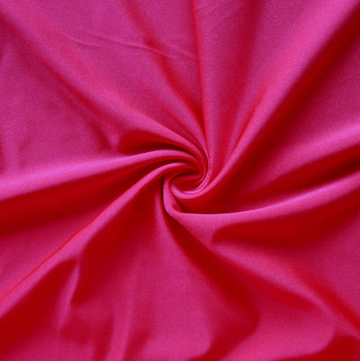 Lipstick Solid Nylon Spandex Tricot Specialty Swimsuit Fabric