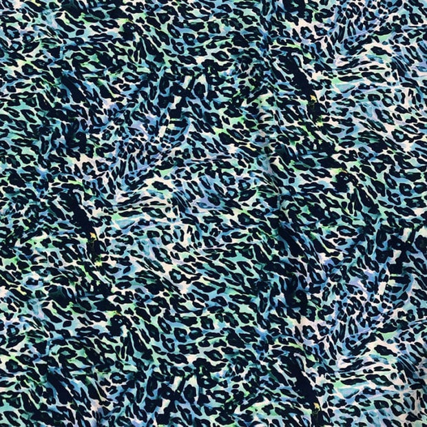Liquid Leopard Nylon Spandex Swimsuit Fabric