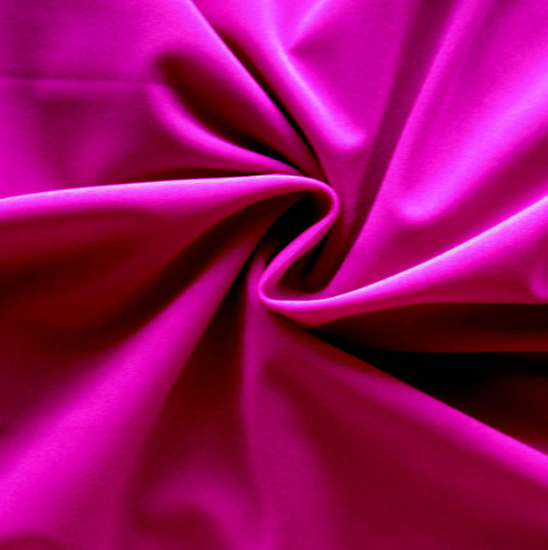 Magenta Solid Nylon Spandex Tricot Specialty Swimsuit Fabric