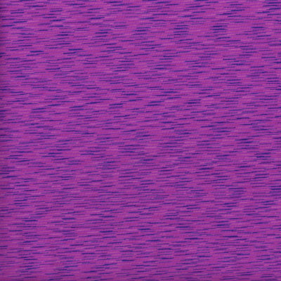 Magenta/Navy Space Dye Poly Lycra Jersey Knit Fabric