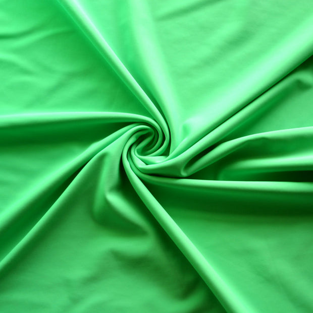 Mantis Green Nylon Lycra Swimsuit Fabric