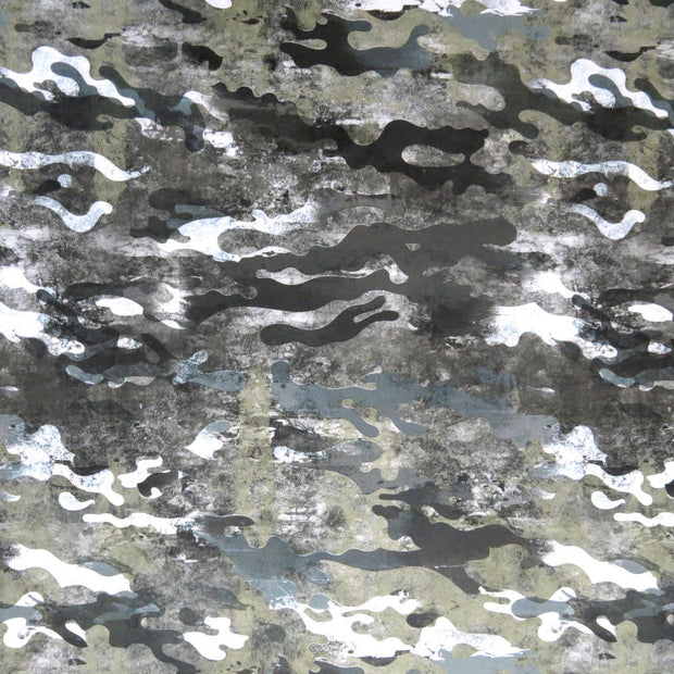 Marble Camo Nylon Spandex Swimsuit Fabric