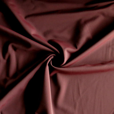 Marsala Nylon Spandex Swimsuit Fabric