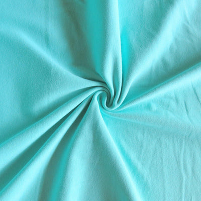Medium Mint 10 oz. Cotton Lycra Jersey Knit Fabric