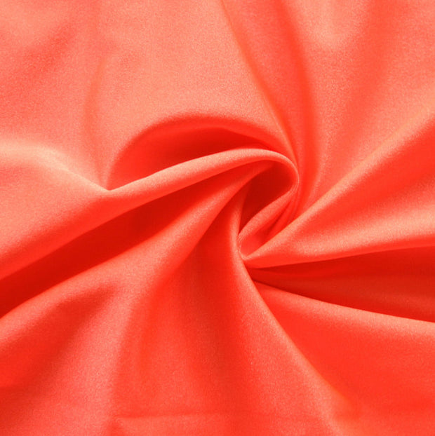 Melon Solid Nylon Spandex Tricot Specialty Swimsuit Fabric