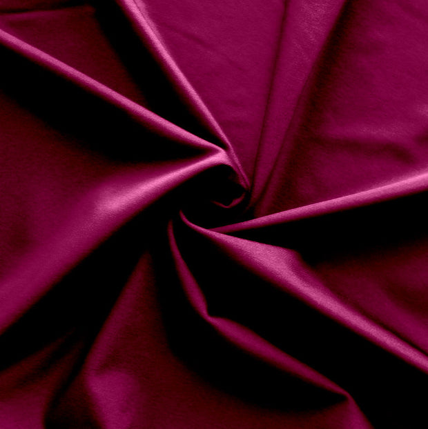 Plum Purple Nylon Lycra Swimsuit Fabric