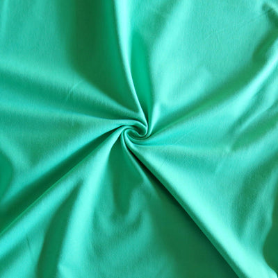 Minty Green 12 oz. Cotton Lycra Jersey Knit Fabric