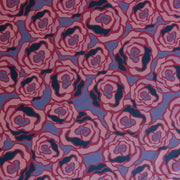 Modern Pink Roses Nylon Spandex Swimsuit Fabric
