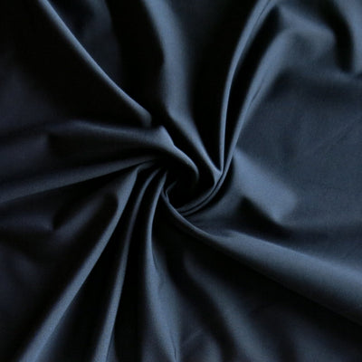 Carbon Classic Navy Primo Poly Lycra Tricot Fabric