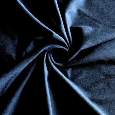 Navy Dry-Flex Classic Poly Lycra Jersey Knit Fabric