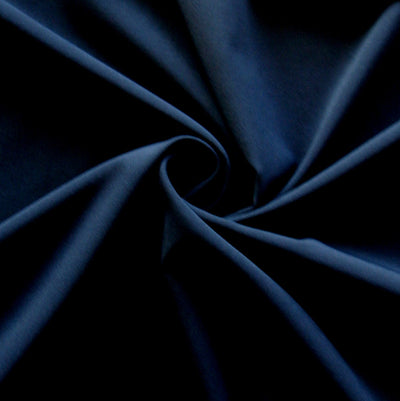 Navy Stretch Woven Fabric