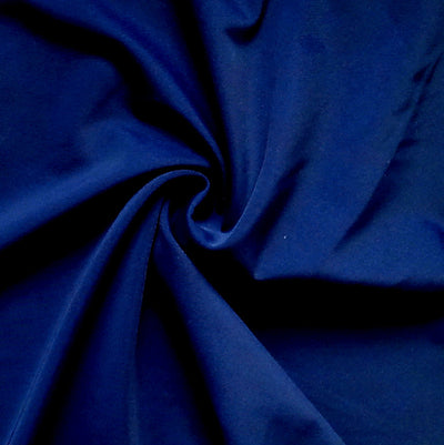 Navy Solid Nylon Spandex Tricot Specialty Swimsuit Fabric