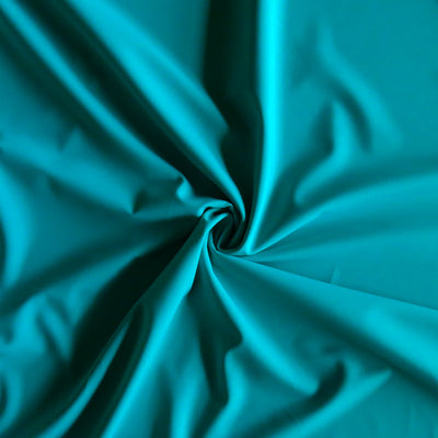 New Turquoise Palm Rec 18 Recycled Nylon Spandex Swimsuit Fabric