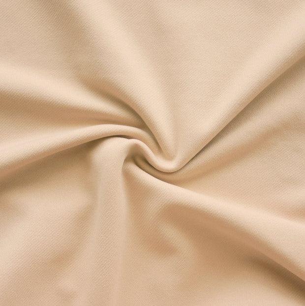 Nude Poly Cotton Lycra Wickaway Fabric