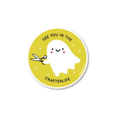 Crafterlife Sticker by CraftedMoon