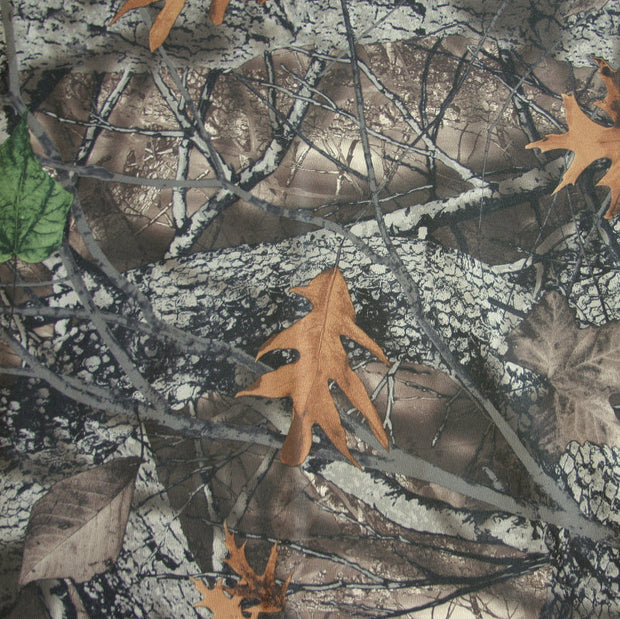 Forest Camo Nylon Lycra Swimsuit Fabric