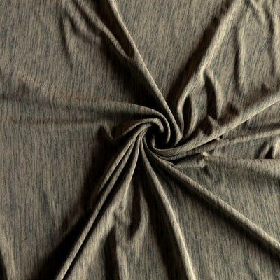 Olive Marl Nylon Spandex Swimsuit Fabric