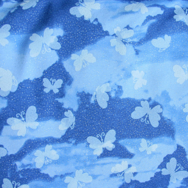 On Cloud Nine Cotton Lycra Knit Fabric