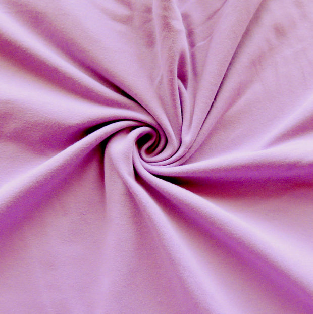 Orchid 10 oz. Cotton Lycra Jersey Knit Fabric