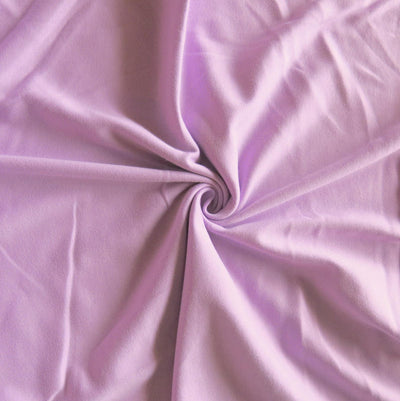 Orchid Cotton Interlock Fabric