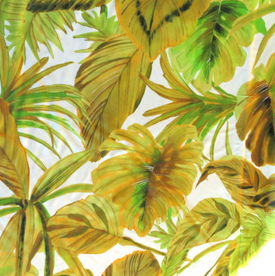 Palm Paradise Nylon Spandex Swimsuit Fabric