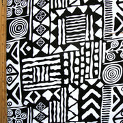 Patchwork Tribal Cotton Lycra Knit Fabric