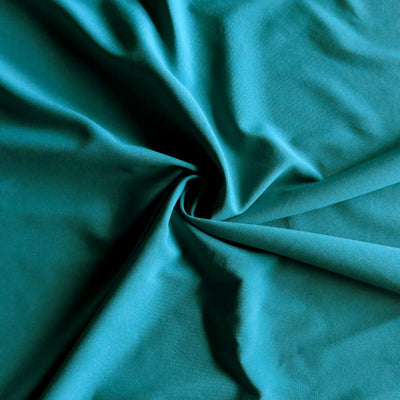 Peacock Green Stretch Woven Fabric