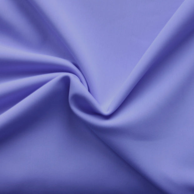 "Periwinkle Purple Swimsuit Fabric - 35"" Remnant Piece"